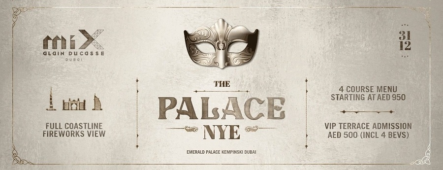 Tickets to The Palace NYE at miX by Alain Ducasse - Dubaisavers