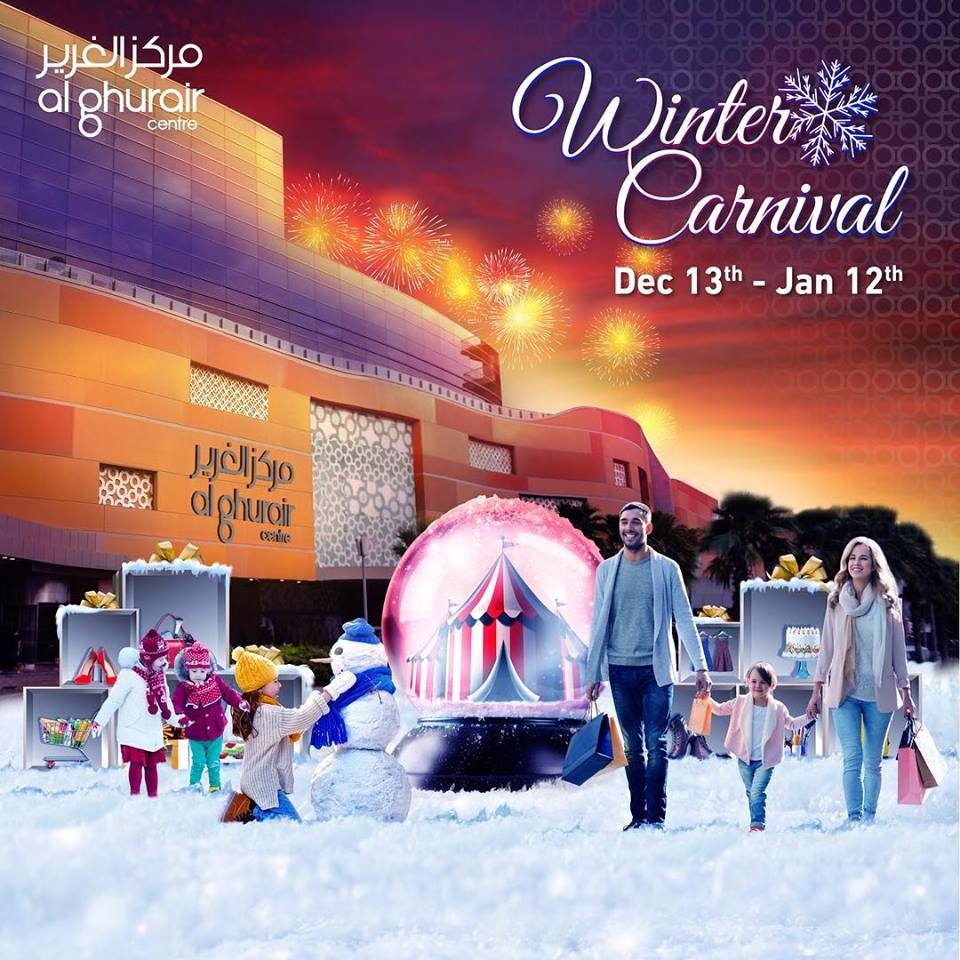 Winter Carnival at Al Ghurair Centre - Dubaisavers