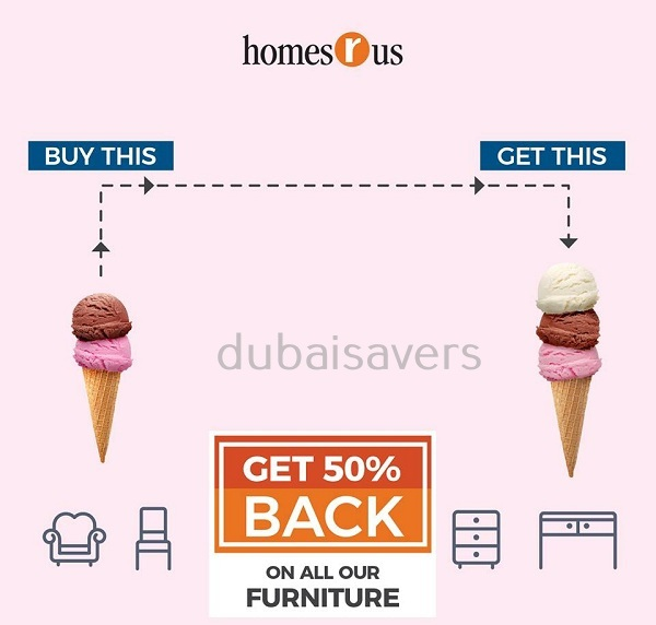DSF Sale at Homes r Us - Dubaisavers