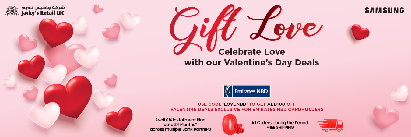 Valentine's day promotion at Jacky's - Dubaisavers