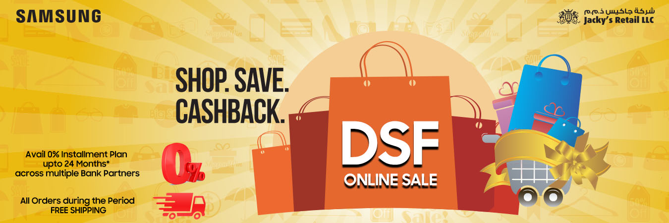 Samsung DSF offers at Jacky's Retail - Dubaisavers