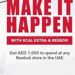 KCal & Reebok Promotion - Dubaisavers