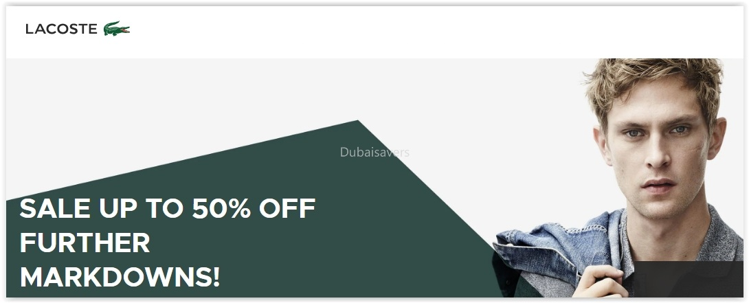 Lacoste Sale with further Markdowns! - Dubaisavers