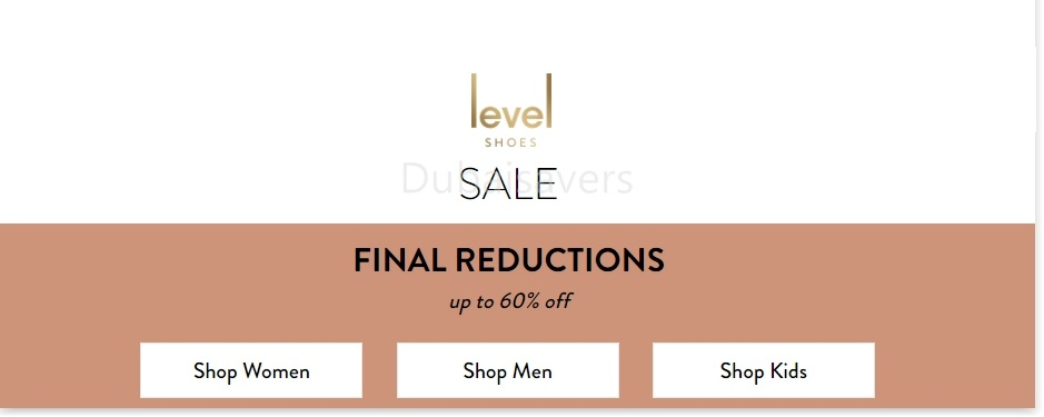 Further Reductions at the Level Shoes Sale - Dubaisavers