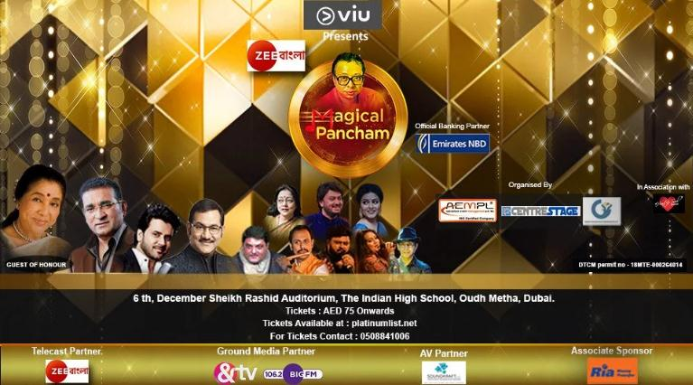 Magical pancham - A tribute to legend R D Burman - Dubaisavers