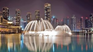 Dubai Fountain Boardwalk