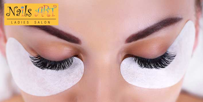 Full Set of Individual Eyelash Extensions from Nails Art Ladies Salon - Dubaisavers