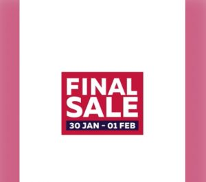 Dubai Shopping Festival Final Sale - Dubaisavers