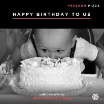 Freedom Pizza Birthday Offer! - Dubaisavers