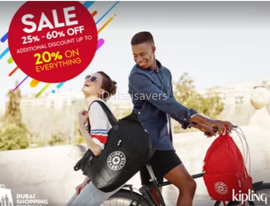 Kipling Final DSF sale - Dubaisavers