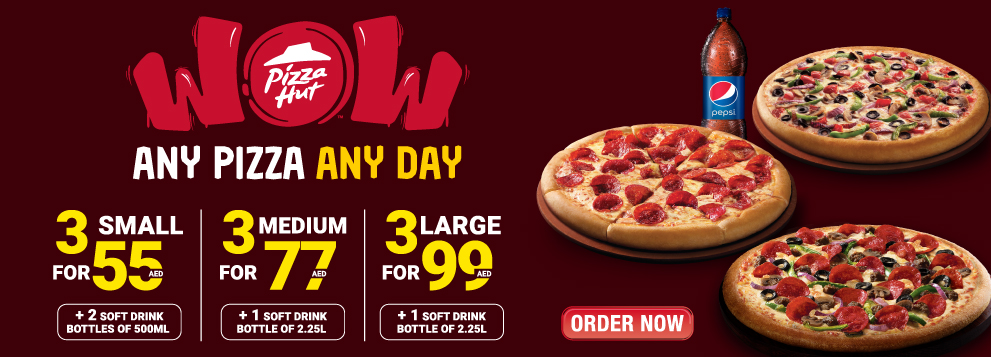 The New Salad Bar offer at Pizza Hut - Dubaisavers