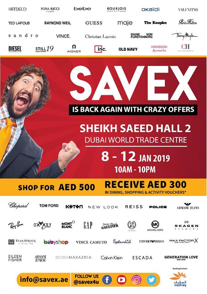 SAVEX is back again at DWTC - Dubaisavers