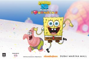 Dance with SpongeBob at Dubai Marina Mall - Dubaisavers