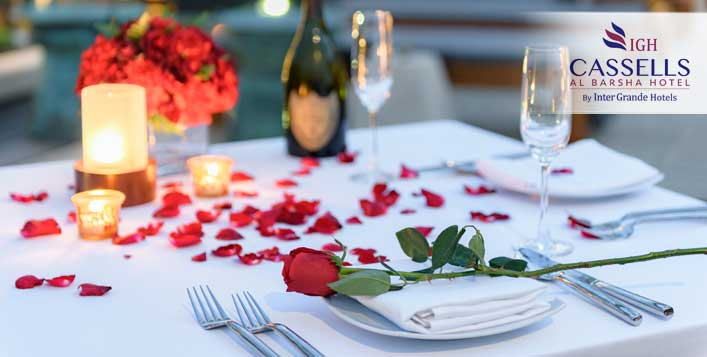 Romantic Dinner Buffet from Cassells Al Barsha Hotel - Dubaisavers
