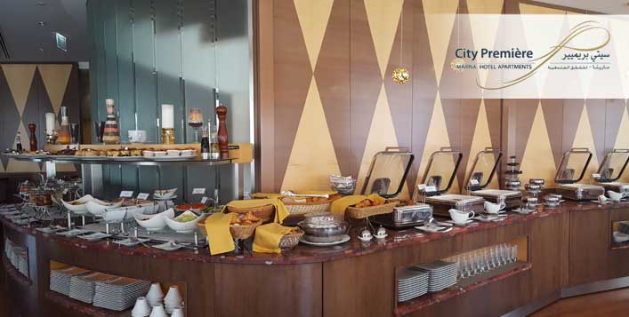 Fusion Lunch Buffet at City Premiere Marina Hotel Apartments - Dubaisavers