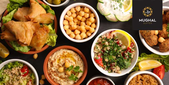 Friday Brunch with Unlimited Hot and Cold Drinks from One to One Mughal Suites - Dubaisavers