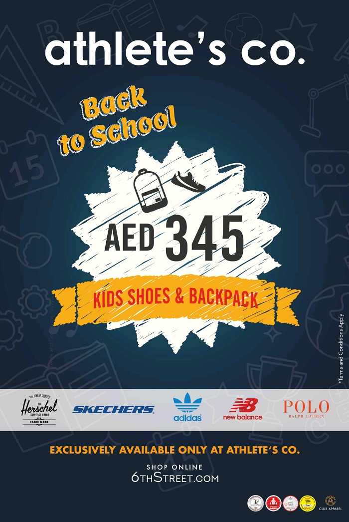 Athlete's Co. Back to School offers - Dubaisavers
