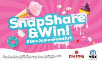 Snap, Share & Win at Burjuman Foodart - Dubaisavers