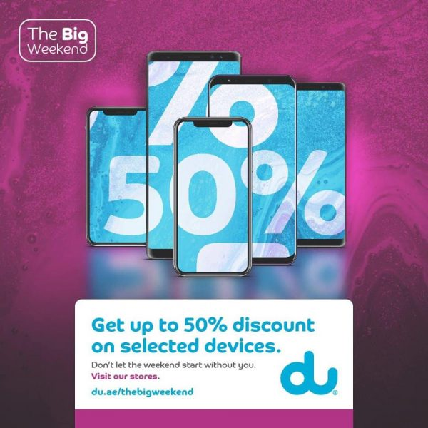 du The Big Weekend Sale - Dubaisavers