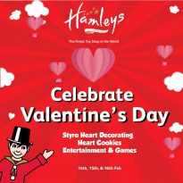 Celebrate Valentine's day with Hamley's - Dubaisavers