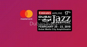 Emirates Airline Dubai Jazz Festival 2019 - Dubaisavers