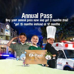 Kidzania Special Annual Pass Flash Sale - Dubaisavers