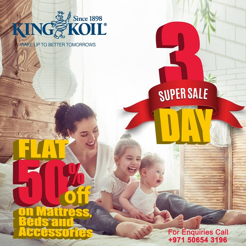 King Koil Super Sale - Dubaisavers