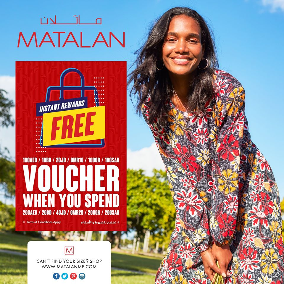 Matalan Voucher offer - Dubaisavers