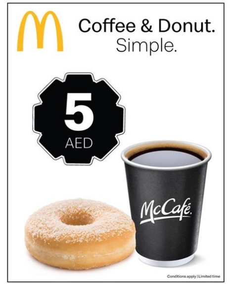 McDonald's Latest offer for only AED 10!! - Dubaisavers