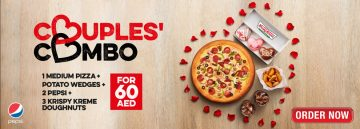 Pizza Hut Couples Combo offer - Dubaisavers