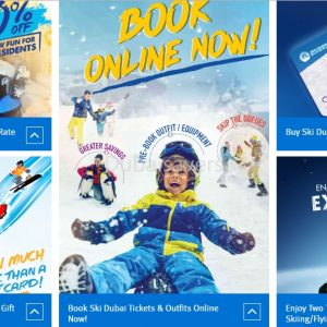 Ski Dubai Latest offers - Dubaisavers