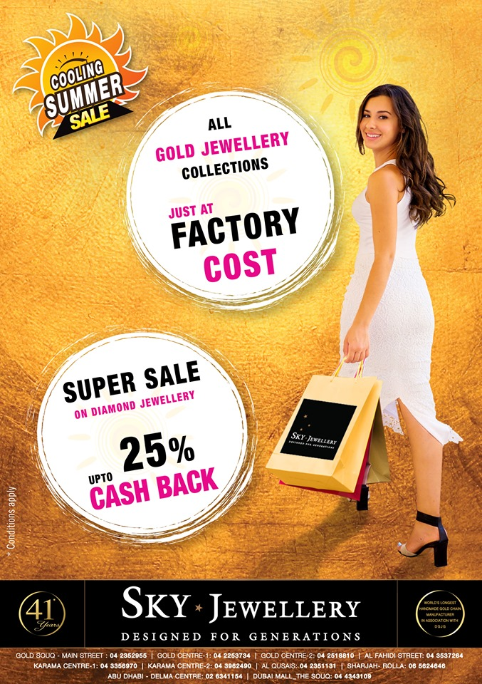 Sky Jewellery Summer Sale - Dubaisavers