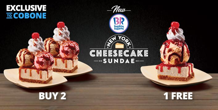 Buy 2 Get 1 Free at Baskin Robbins for only AED 5!! - Dubaisavers
