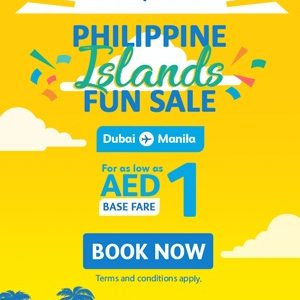 Cebu Pacific Air Launches AED 1 Sale!!! - Dubaisavers