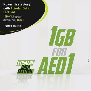 Etisalat Data Festival Promotion - Dubaisavers