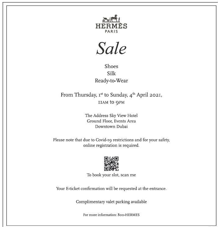 Hermes Sale - Dubaisavers