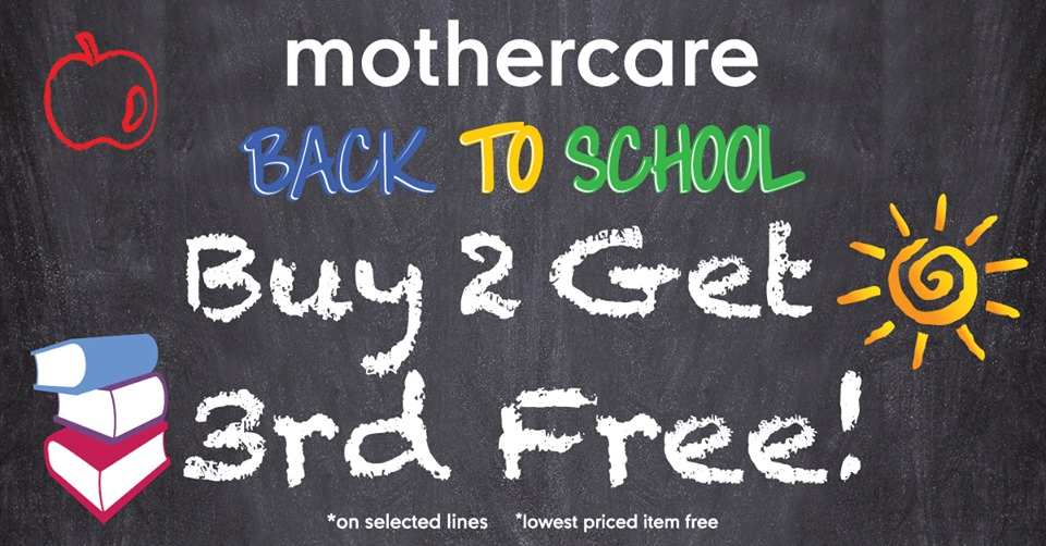 Mothercare Back to School offers - Dubaisavers