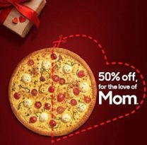Pizza Hut Mother's Day offer - Dubaisavers