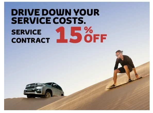 Buy a new Toyota and enjoy a travel package - Dubaisavers