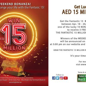 Big Ticket Abu Dhabi Weekend Bonanza - Dubaisavers