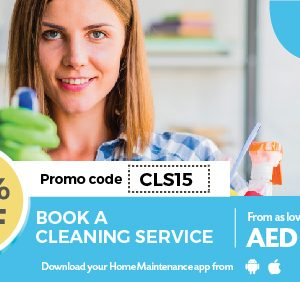 15% Off On Cleaning Services - Dubaisavers