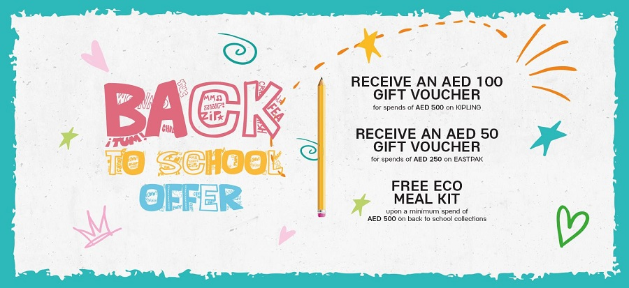 Galeries Lafayette Back to School Promotion - Dubaisavers