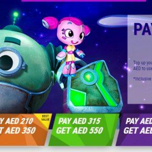 Magic Planet Online Top Up offers - Dubaisavers