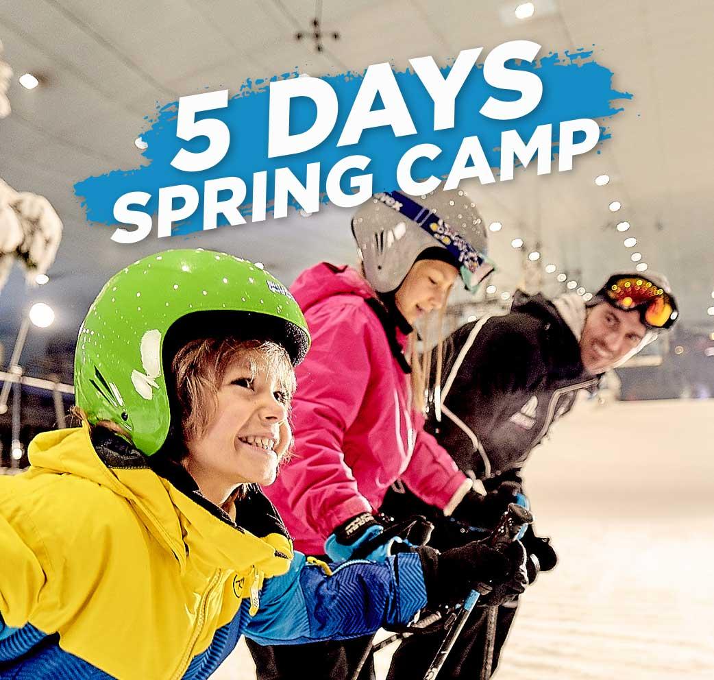 5 Days Spring Camp at Ski Dubai - Dubaisavers