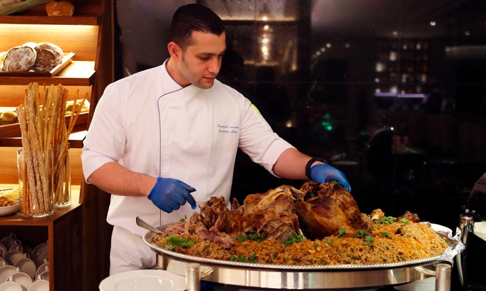Breakfast or Lunch Buffet or Set Menu Dinner and Drinks at Eat and Meat - Dubaisavers