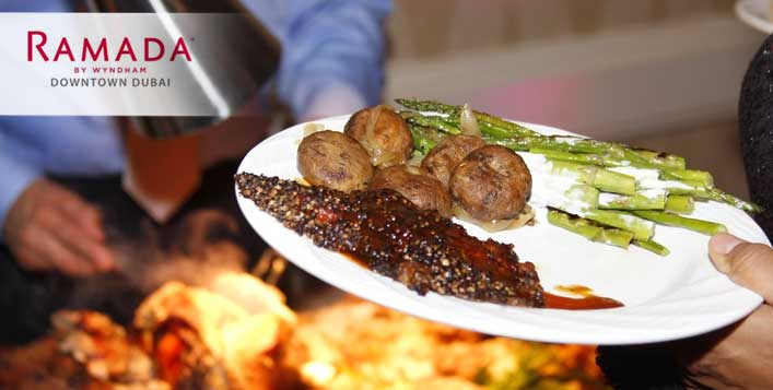 Lunch Buffet with Pool Access from Ramada by Wyndham Downtown - Dubaisavers