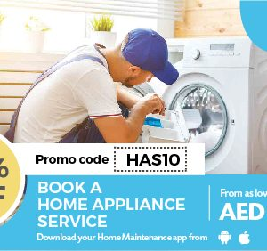 10% Off On Home Appliance Services - Dubaisavers
