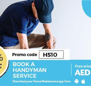 10% Off on Handyman Services - Dubaisavers