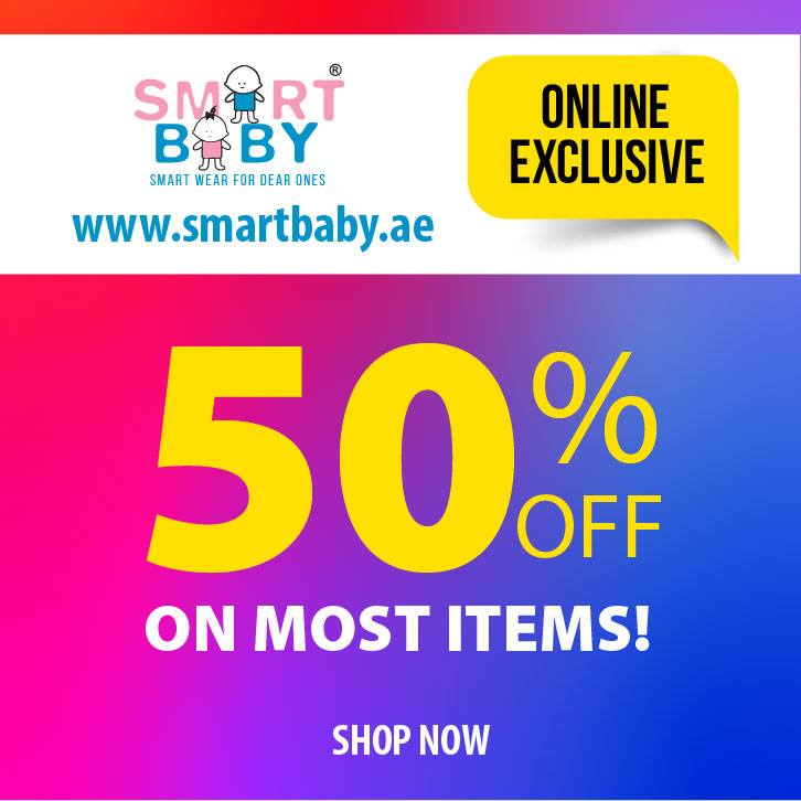 50% OFF at the Smart Baby Online Exclusive sale - Dubaisavers