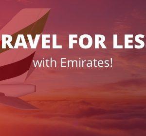 Tajawal 'Travel for Less' deals on Emirates - Dubaisavers